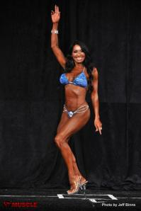 I am rooting for this incredible woman and dear friend to get that Pro Card!  She took a 3rd Place finish in Masters 45+ Bikini Class B at Masters Nationals in July.  I adore Lizzy!