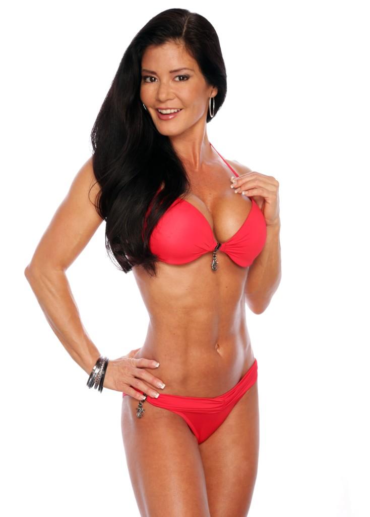 Noel Daganta Red Bikini