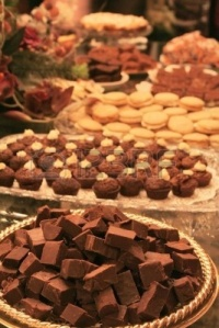2464239-fudge-brownies-cookies-and-candy-layed-out-on-fancy-table