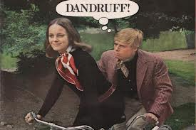 Dandruff ad