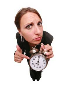worried-woman-with-time-clock