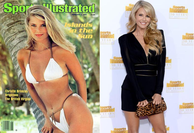 Christie Brinkley at 24 and 59