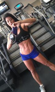lean abs at gym