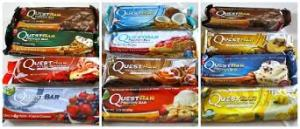 Quest Bars flavors