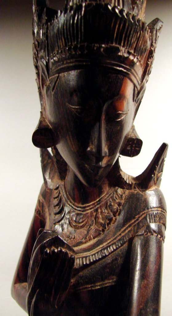 Ebony wood carving