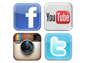 Body Fuse Social Media logos facebook twitter instagram youtube