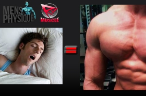 sleep equals muscle