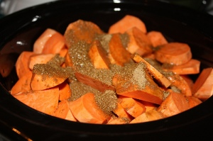 sweet potato crock pot