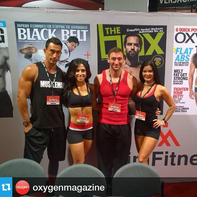 Olympia 2014 foursome