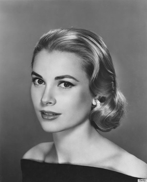 I also adore the fact that Grace Kelly, a classic beauty, had a widow's peak. American actress Grace Kelly (1929 - 1982), circa 1955.  (Photo by Pictorial Parade/Hulton Archive/Getty Images)