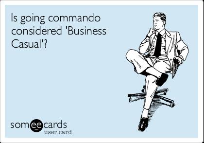 men commando