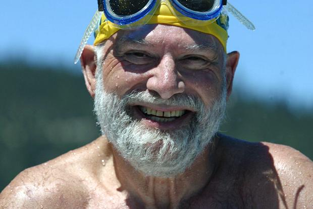 Oliver Sacks swimmer