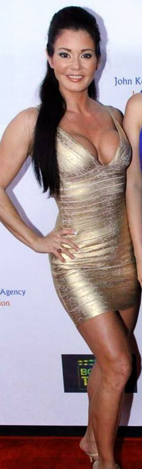One of my favorite hot dresses is this gold bandage dress from Hot Miami Styles