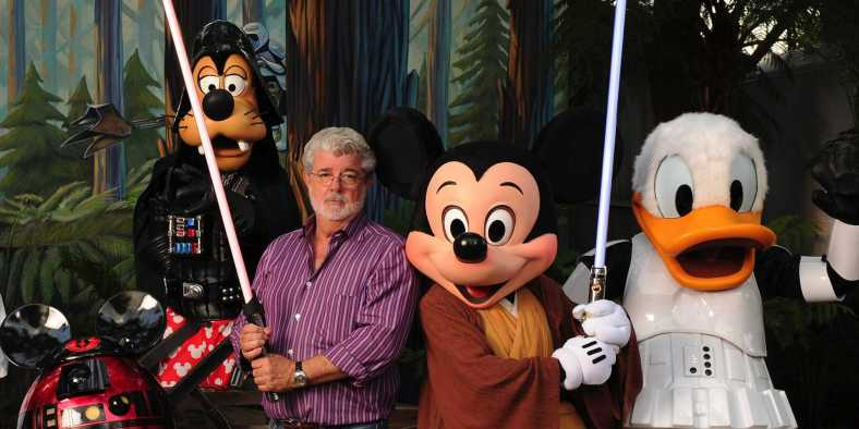 George Lucas Disney