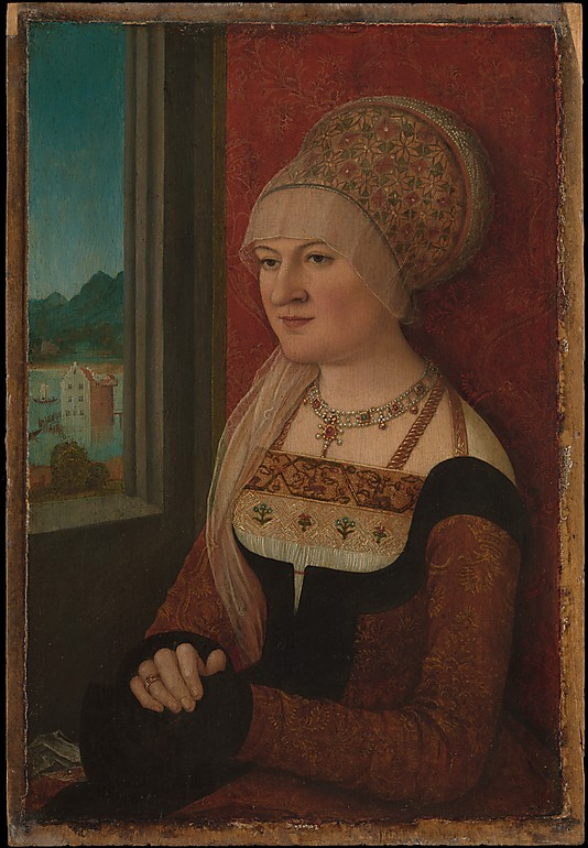 Bernhard Strigel, Portrait of a Woman, ca. 1515