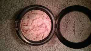 One of my MAC Mineralized Skinfinishes