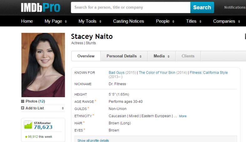 IMDB screen shot