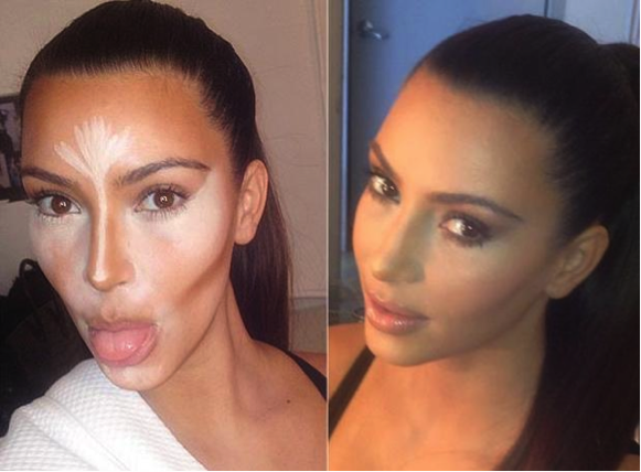 kim kardashian Before-And-After