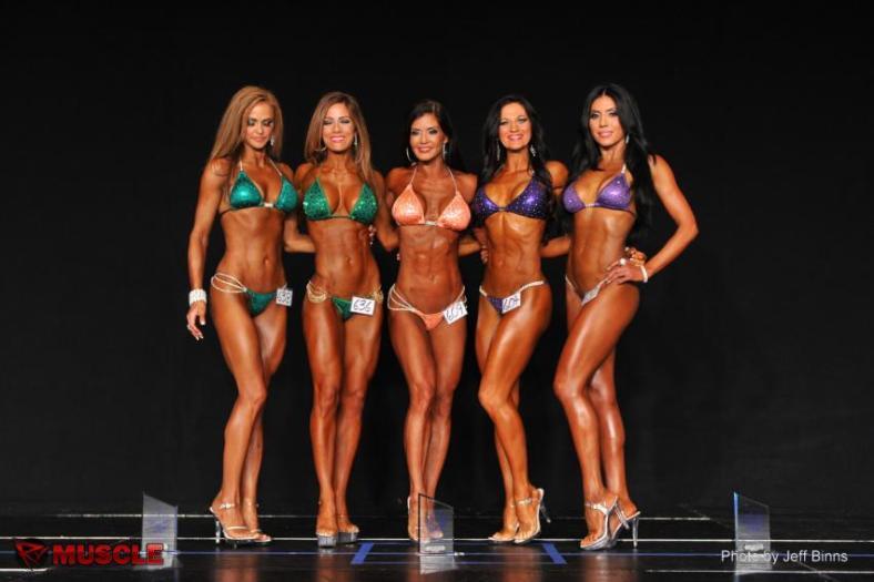 First Place Masters Bikini 35+ B Class, Team Universe, July 2013